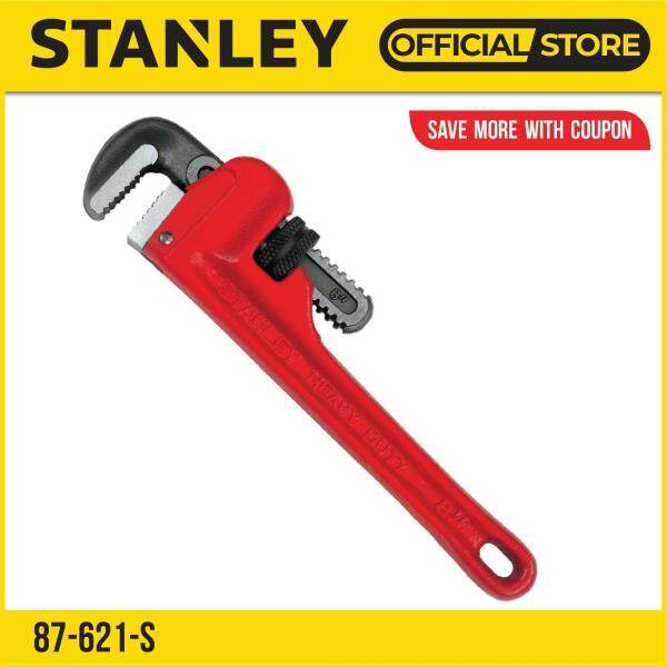 Stanley 87-621-S (87-621) Red Pipe Wrench Pipe 8in 186mm