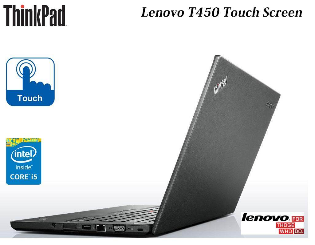 ThinkPad T450 Touch Screen Ultrabook Laptop- Intel Core i5-5300U-4GB-320GB HDD Malaysia