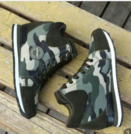 d5134ad9368d6 womens shoes Increased slope with camouflage wedge hidden heel sneakers |  Lazada
