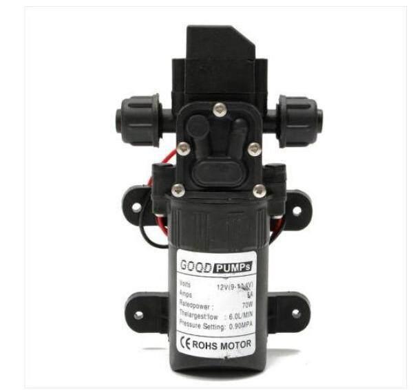 12V 130PSI 6L/Min Straight Water Pump Diaphragm Self Priming for RV Caravan