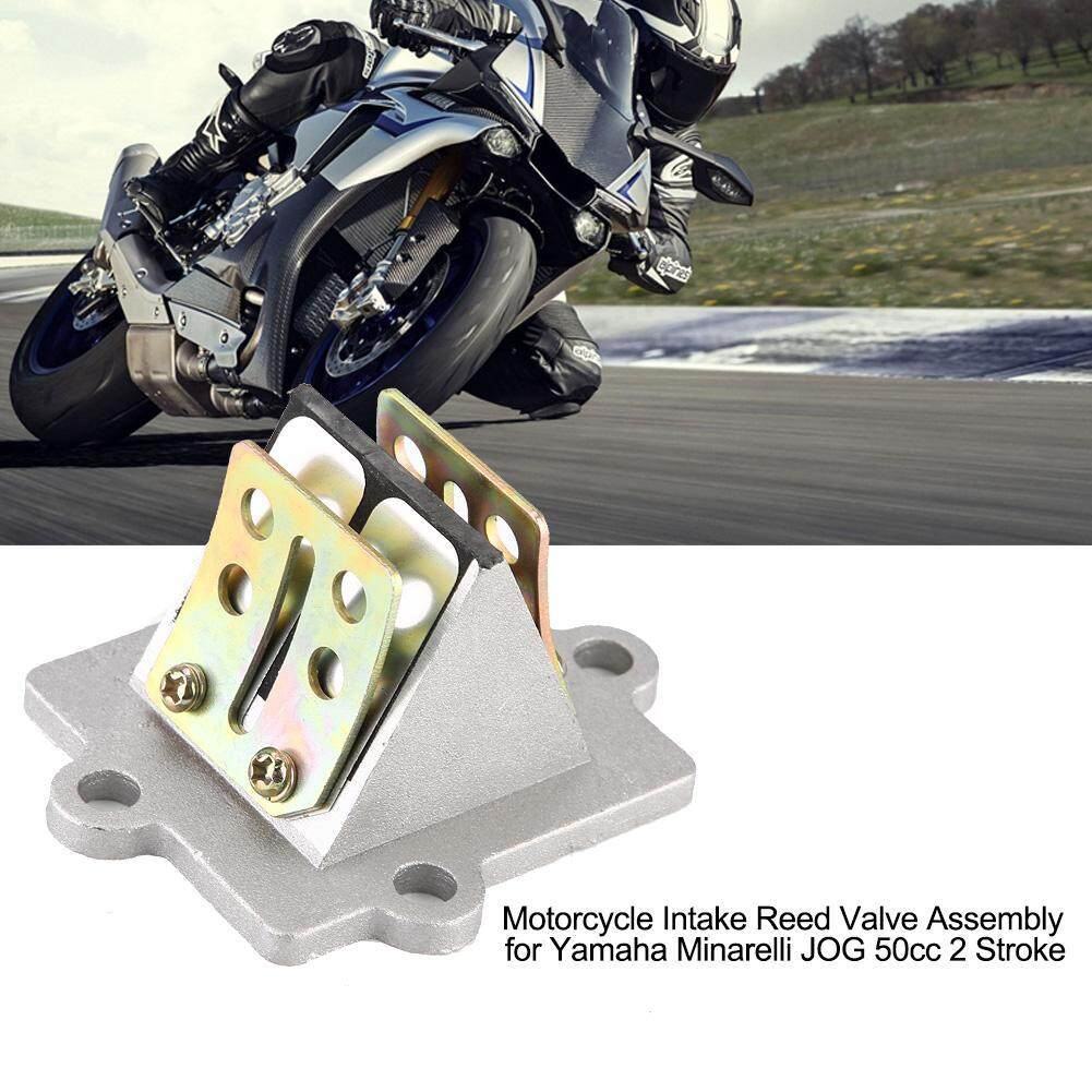 Motorcycle Intake Reed Valve Assembly for Yamaha Minarelli JOG 50cc 2 Stroke