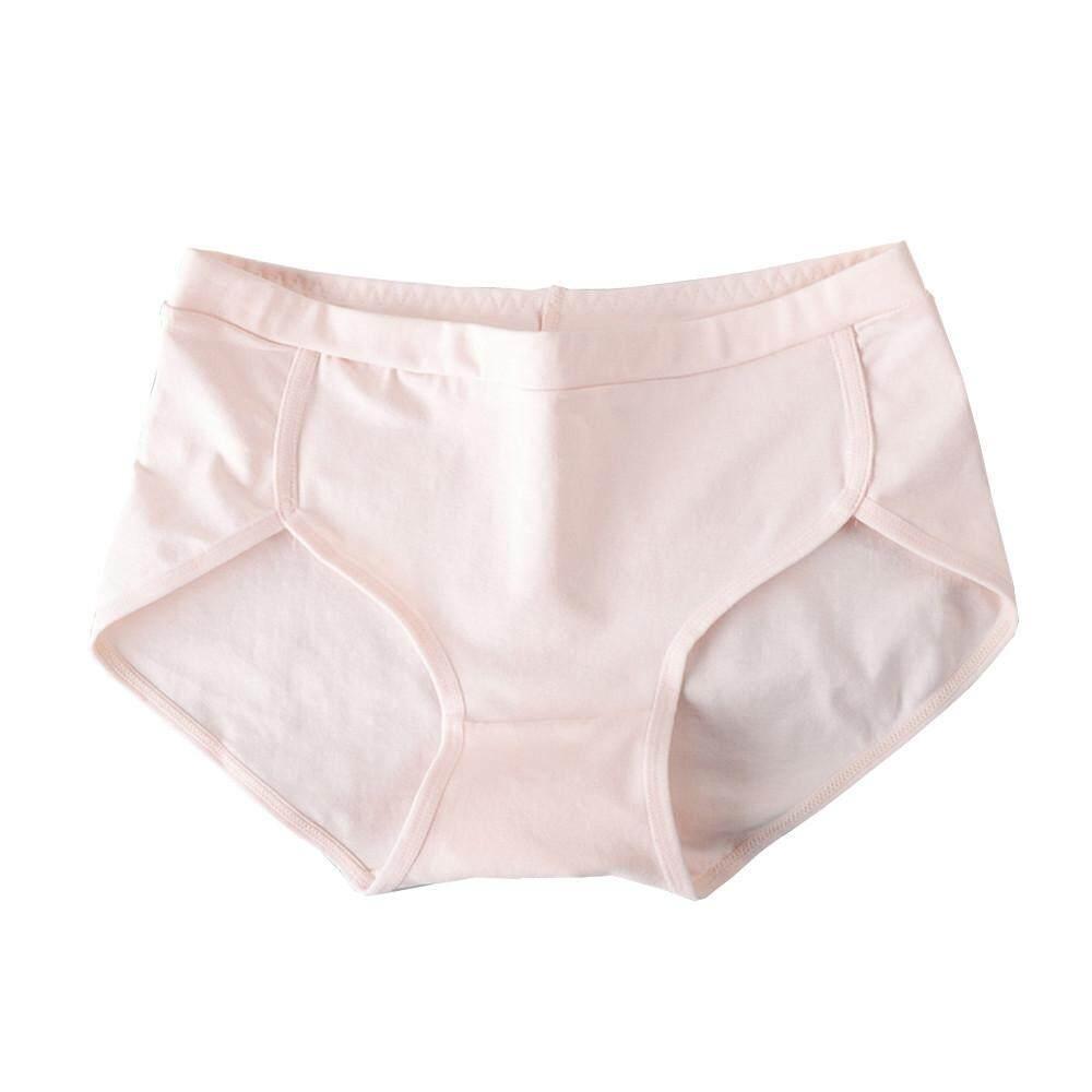 Wanita Lucu Pinggang Tengah Celana Dalam Katun Tali Lingerie Celana Dalam  Pakaian Dalam 2005d60be1