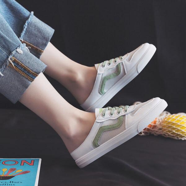 Giá bán Trong Kho Thương Hiệu Thương Hiệu Giày Nữ Giản Dị Giày Thể Thao Nữ Giày Trắng Cho Nữ