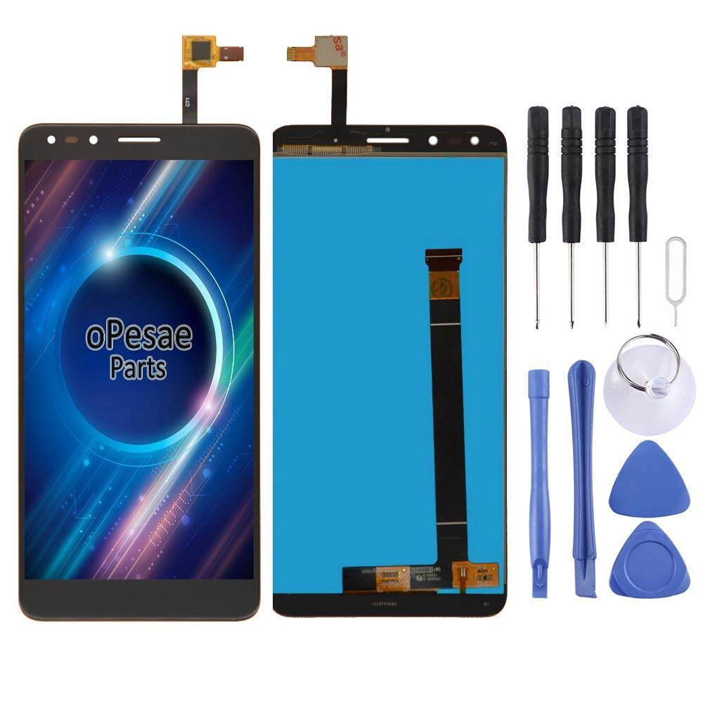 Layar LCD dan Digitizer Penuh Perakitan untuk Alcatel Pop 4 7070/OT-7070/OT7070/7070X/7070Q/7070A /7070I (Hitam)