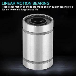 8 Cái Ống Lót Ổ Bi Chuyển Động Tuyến Tính LM6UU 6Mm Dành Cho Máy In 3D, Phụ Tùng CNC thumbnail