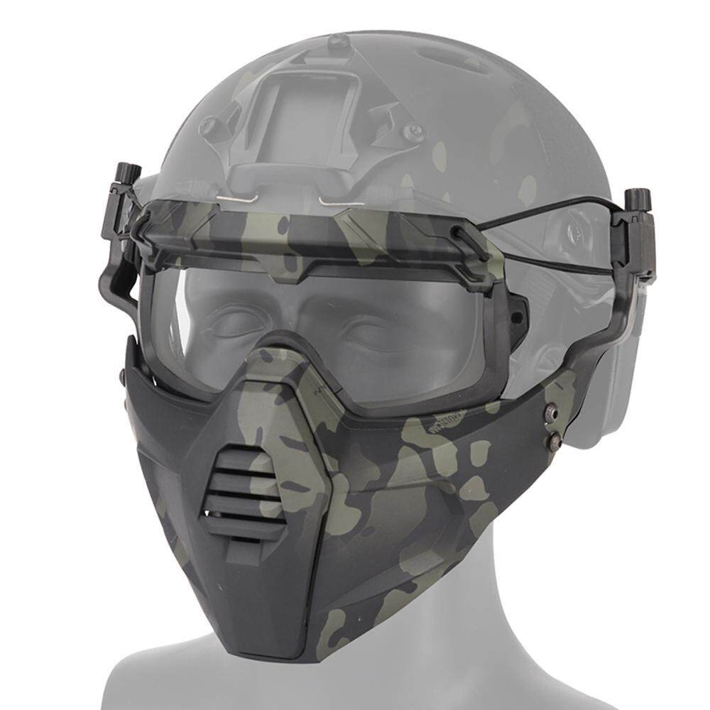 SilyNew Face Mask Goggles Motorcycle Racing Mask Ski Goggles Open Face Half Helmet Sunglasses,Mouth Filter Anti Dust Sand Wind Face Helmet For Motorcycle Dirt Bike Racing Goggles