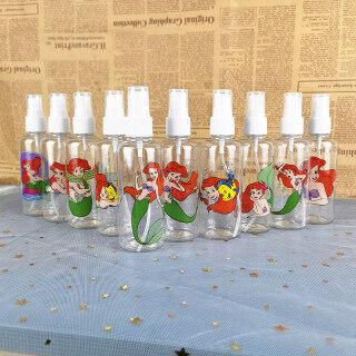 We Flower Chai Xịt Công Chúa Nàng Tiên Cá Bằng Nhựa 100ML Chai Cỡ Hoạt Hình Du Lịch Để Đựng Mỹ Phẩm Nước Hoa thumbnail