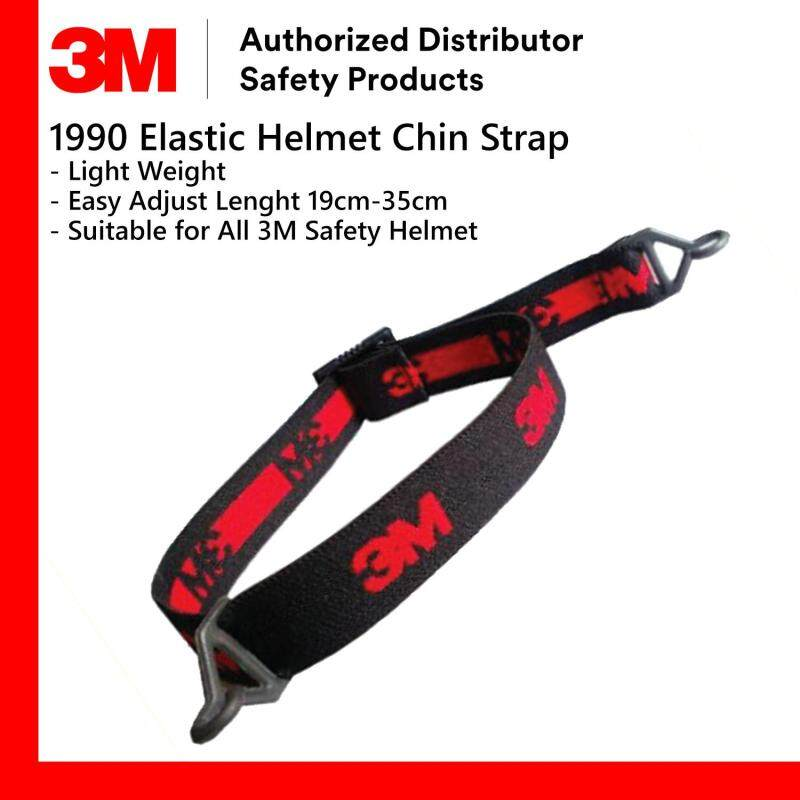 3M 1990 Elastic Chin Strap/ Chinstrap Suitable for All 3M Helmet H-700 / H-800 / M-600 Series [1 piece]