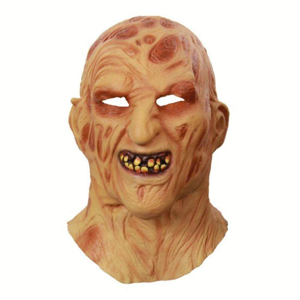 Cosplay Freddy Krueger Mask Halloween Mask Party Mask Adult Scary Horror Costume Fancy Dress Scary Mask Halloween Christmas