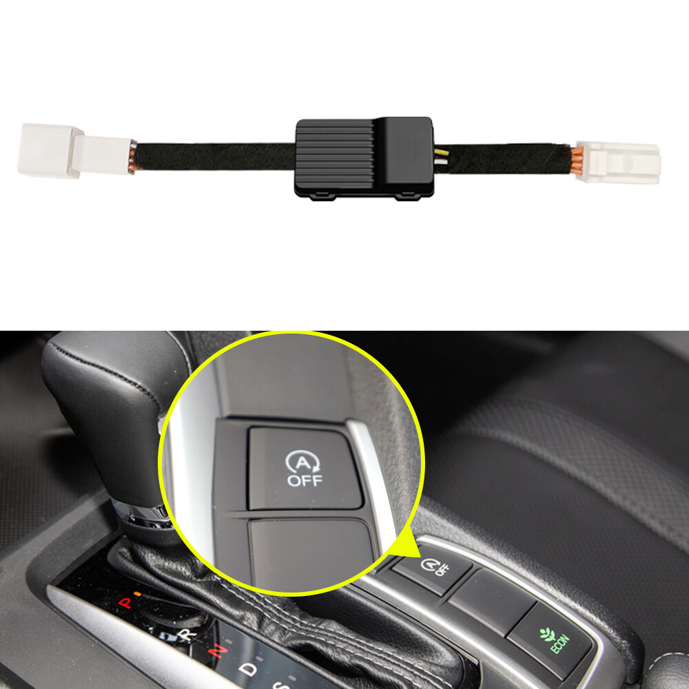 Anteke Car Close Automatic Stop Start Engine System Device Control Sensor Plug Electronic Accessories For Honda Civic 10th 2017-2020.