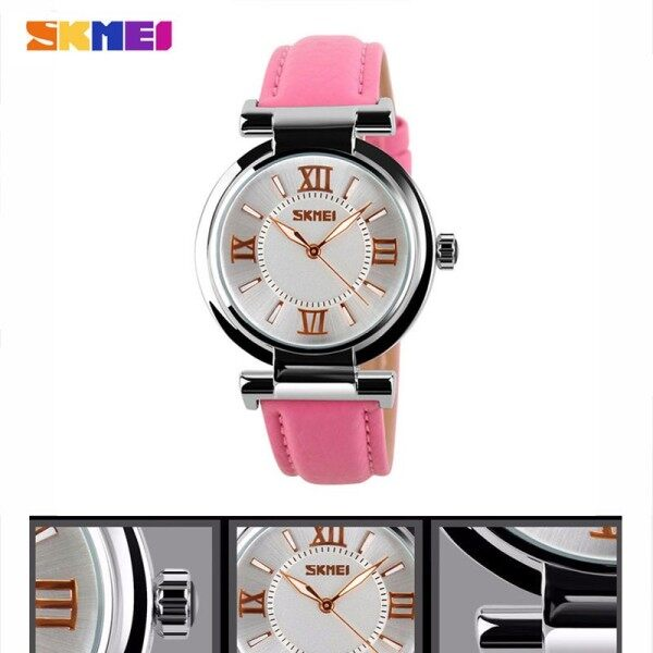 【lristim】Genuine Watches Ladies Leather Womens Watch Quartz Watch Trend Fashion Belt Watch Anti-female Watch Fashion Simple Business Watch 9075 Malaysia