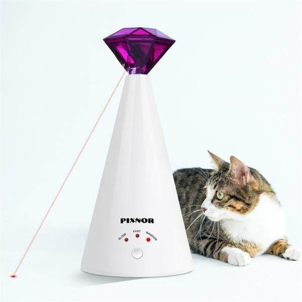 Kim Cương Mèo Đồ Chơi, Điện Vật Nuôi Đồ Chơi, Con Mèo Tương Tác Hình Kim Cương Con Trỏ Thú Cưng 3 Tốc Độ Có Thể Điều Chỉnh Nhựa Mèo Đồ Chơi Pet Nguồn Cung Cấp