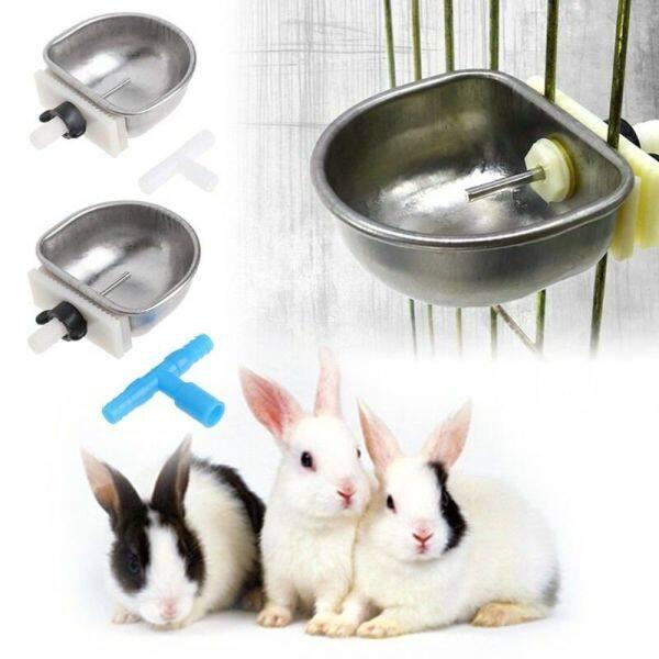A YAYA 4 Thực tế T Thiết bị chung Chống sặc Chống rò rỉ nước Bát thỏ Máy uống tự động Máy cấp nước Sửa bát