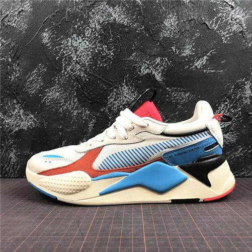 e0caf3458b1 Puma Original RS-X Reinvention White MENS Sports Sneakers Shoes Discounted