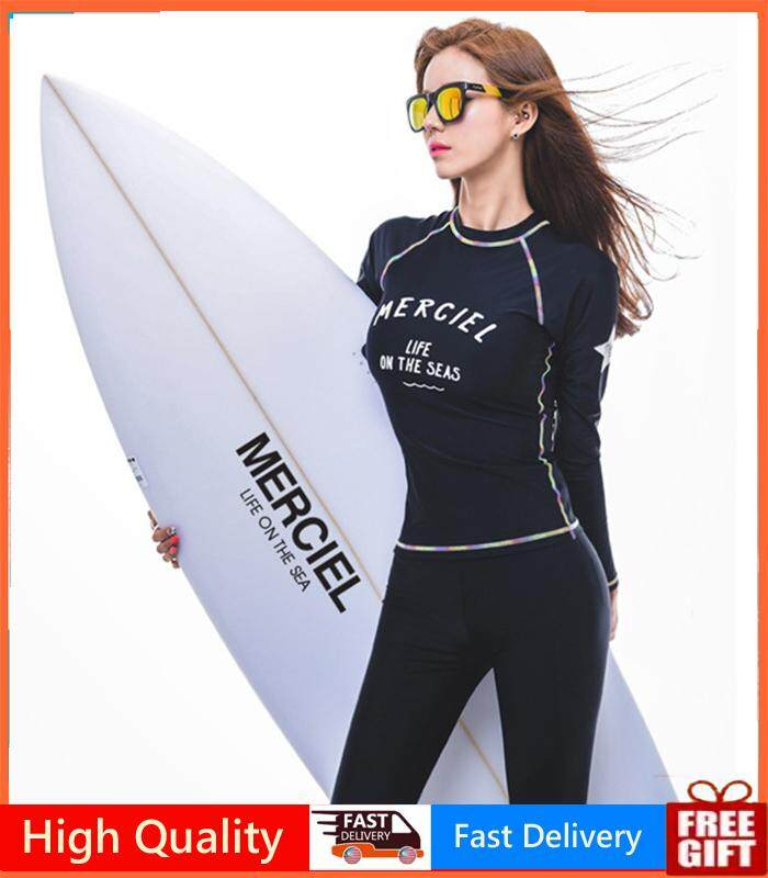 76c05dc7bee 3 Piece New Surfing Suit Long Sleeve - Modest Swimwear for Women Ladies