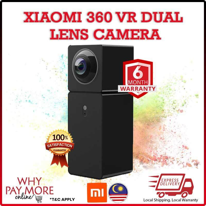 Xiaomi Hualai Xiaofang Cam 360 1080p Two-Way Dual Lens Panoramic View Smart Wifi Ip Camera Cctv By Wpm Online.