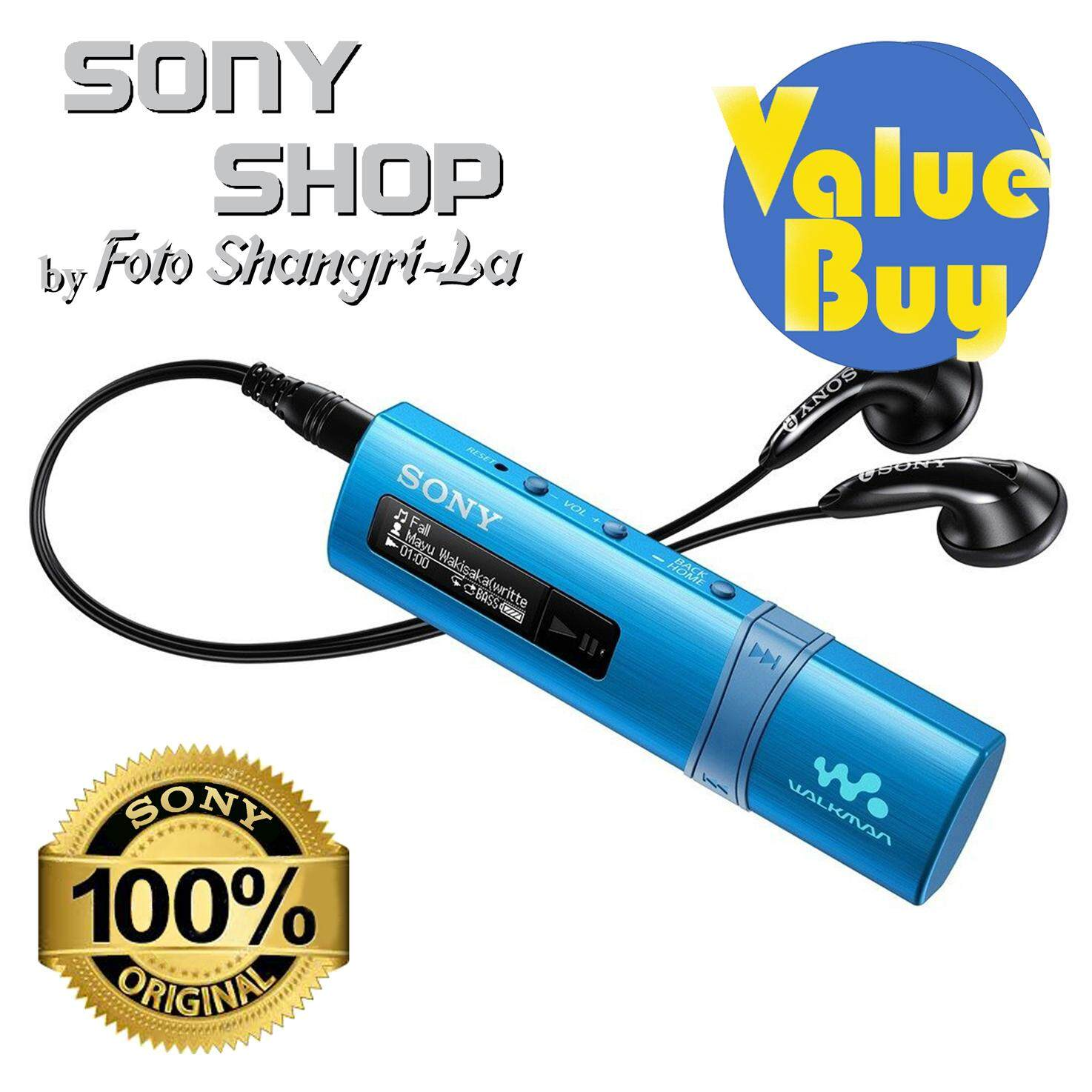 Sony Shop Mp3 Players Price In Malaysia Best Walkman With High Resolution Audio Nw A35 Pink Nwz B183f 4gb Blue
