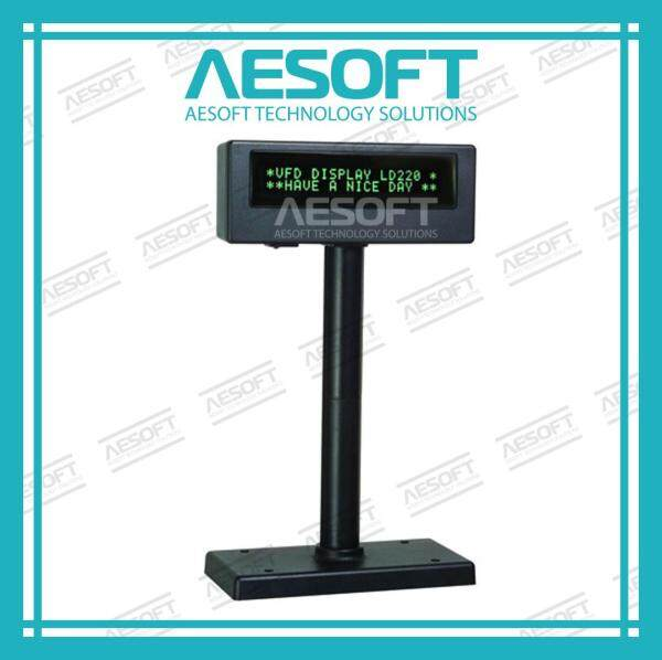 POS Customer Pole Display LCD 2x20 Suit For All POS Software Malaysia