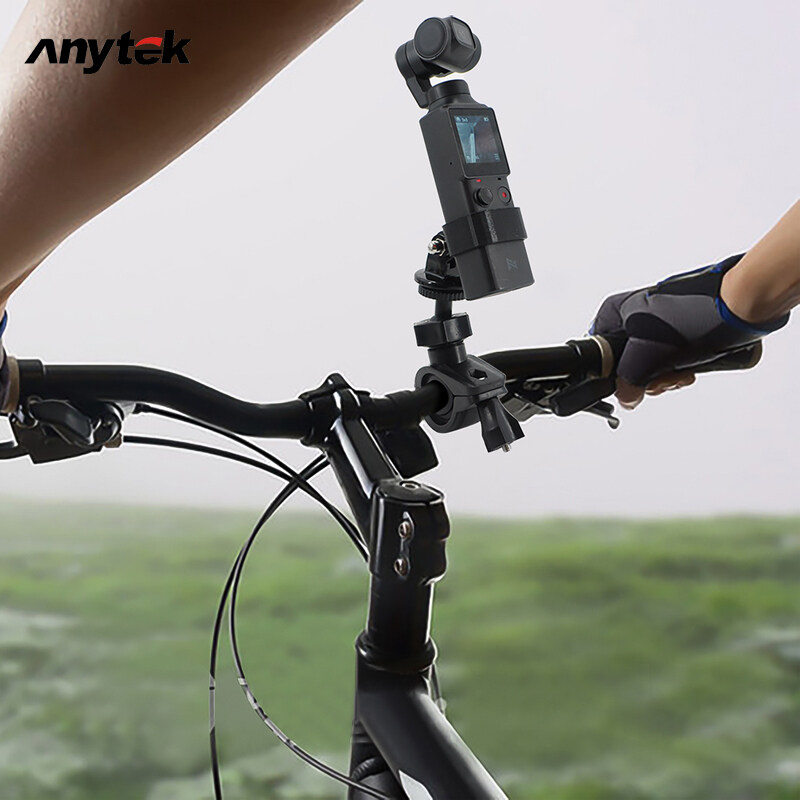 Anytek Fimi Palm Camera Bicycle Mount Bike Motorcycle Bracket Holder For Fimi Palm Action Cam Stand Frame Clip For Gopro Cam.