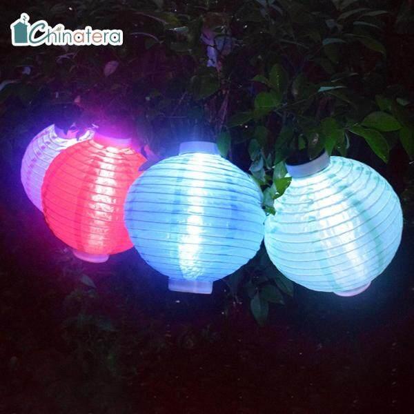 [Chinatera] LED Năng Lượng Mặt Trời Đèn Lồng, Đèn Lễ Hội Truyền Thống Trung Quốc Đèn Treo Không Thấm Nước Chiếu Sáng Cảnh Quan Trang Trí Sân Vườn Ngoài Trời Sân Nhà