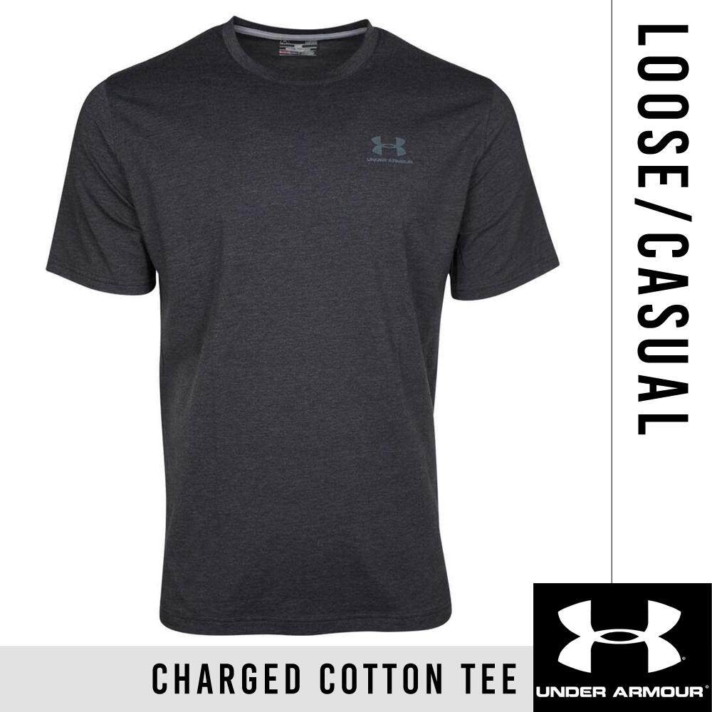 Under Armour Men s Charged Cotton Left Chest Lockup T-Shirt 00a2247458