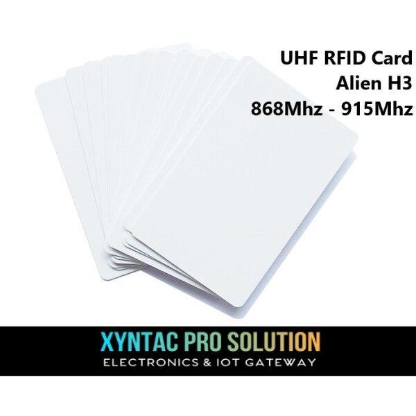 UHF Alien H3 RFID Access Card (Read & Write) 868Mhz-915Mhz Long Range Access Card Car Park
