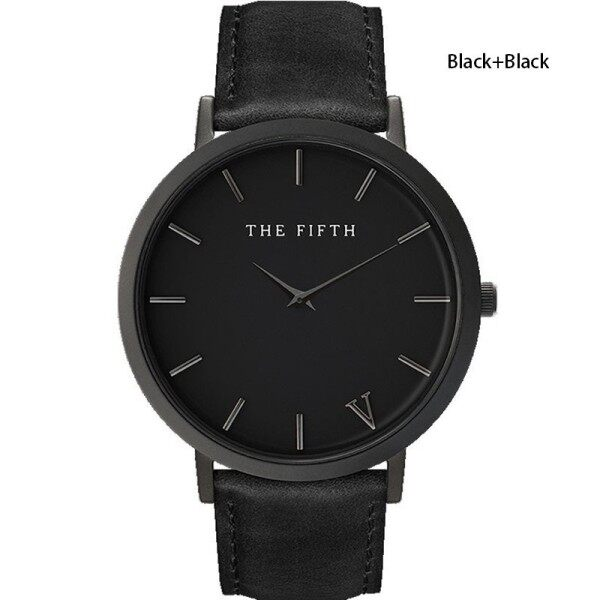 The Fifth Watch Leather Simple Women Quartz Analog Band Malaysia