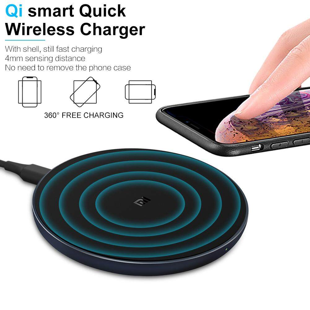 Wireless Charger Qi Smart Quick Charge Fast Charger 7.5W for Xiaomi