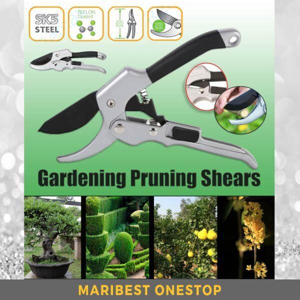 XpertTech SK5 High Carbon Pruning Shear Grafting Tool Home Gardening Pruner Tree Branch Cutters Flower Shear