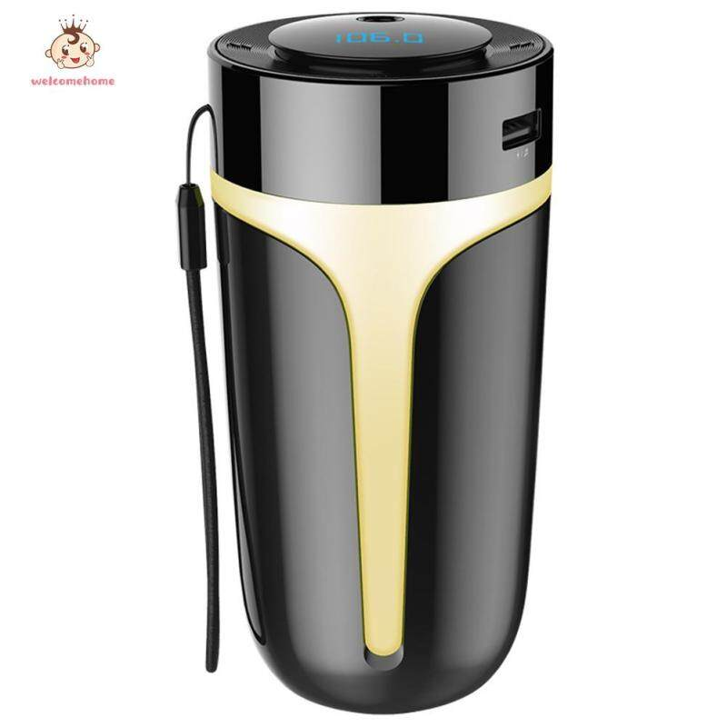 【welcomehome】S10 Car Air Humidifier BT 5.0 Wireless Handsfree Kit FM Transmitter MP3 Player USB Charger Singapore