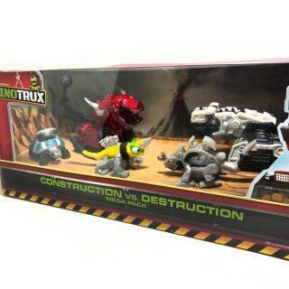 5 Cái bộ Dinotrux Khủng Long Xe Tải, Có Thể Tháo Rời Khủng Long Đồ Chơi Mẫu Xe Mini, Đồ Chơi Quà Tặng Cho Trẻ Em Mới Mô Hình Khủng Long Đồ Chơi Trẻ Em Mini thumbnail