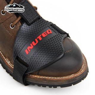 01 Bọc bảo vệ giày sử dụng ngoài trời khi gạc chống xe máy - INTL thumbnail