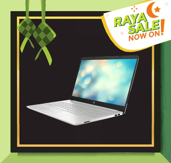 HP 15s-du1004tx Natural Silver/Intel Core i5-10210U 4.2GHz/4GB DDR4/512GB SSD/15.6 LED/NVD MX130 2G/No ODD/2 Years Onsite Warranty/Windows 10 Malaysia