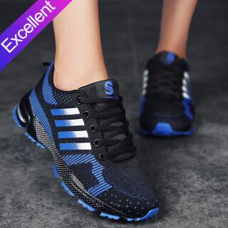 Giày Thể Thao Ngoài Trời Womem E-NENG Giày Chạy Giày Buộc Dây Nhẹ Giày Đi Bộ Đường Dài Kiểu Kasut thumbnail