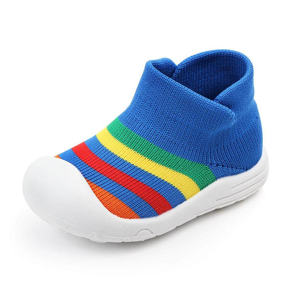 4472e7a438 Toddler Infant Baby Girls Boys Colorful Mesh Soft Sole Sport Shoes Sneakers