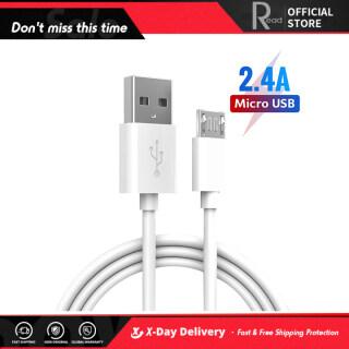 Cáp Sạc Nhanh Đọc Micro USB Android 2.4A 1M Truyền Dữ Liệu Nhanh Cho Điện Thoại Android Samsung Xiaomi Huawei thumbnail
