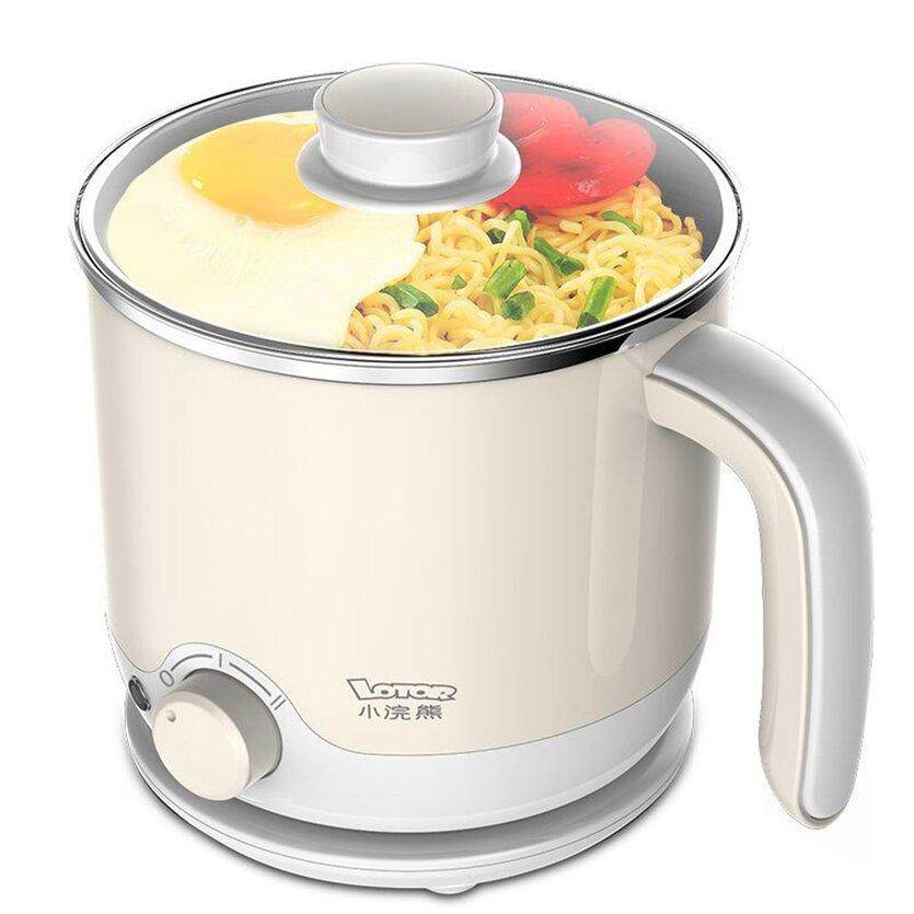ROVEE 70C2 Dormitory Home Electric Food Steamer Deep Fry Cooker Multi-Function Cooking 600W Non-Stick Steamer