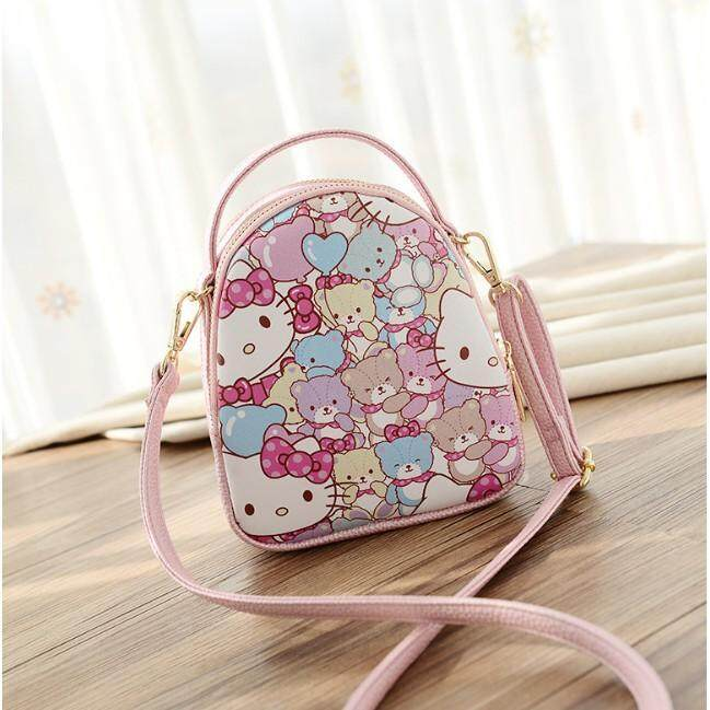 Hello Kitty Fashion Baby Little Girls Kids Cute Mini Crossbody Bag Sling Bag
