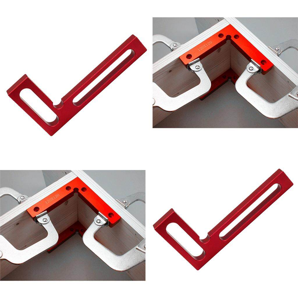 Dolity 2pcs 90Deg Precision Positioning Squares Right Angle Clamps Carpenter Tool