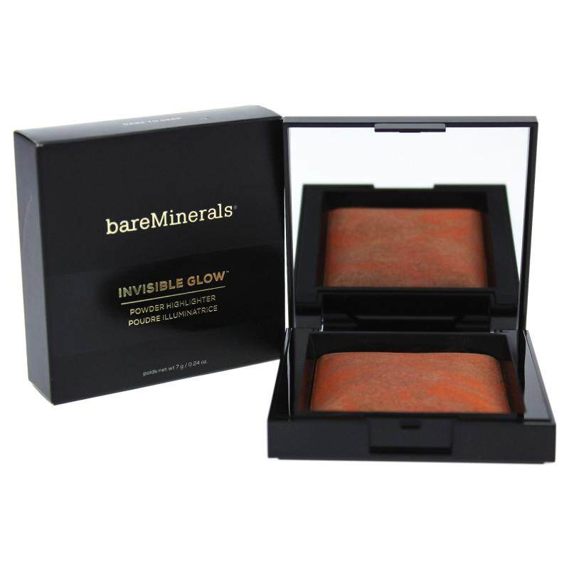 Buy bareMinerals Invisible Glow Powder Highlighter - Dark to Deep - 0.24 oz Highlighter Singapore
