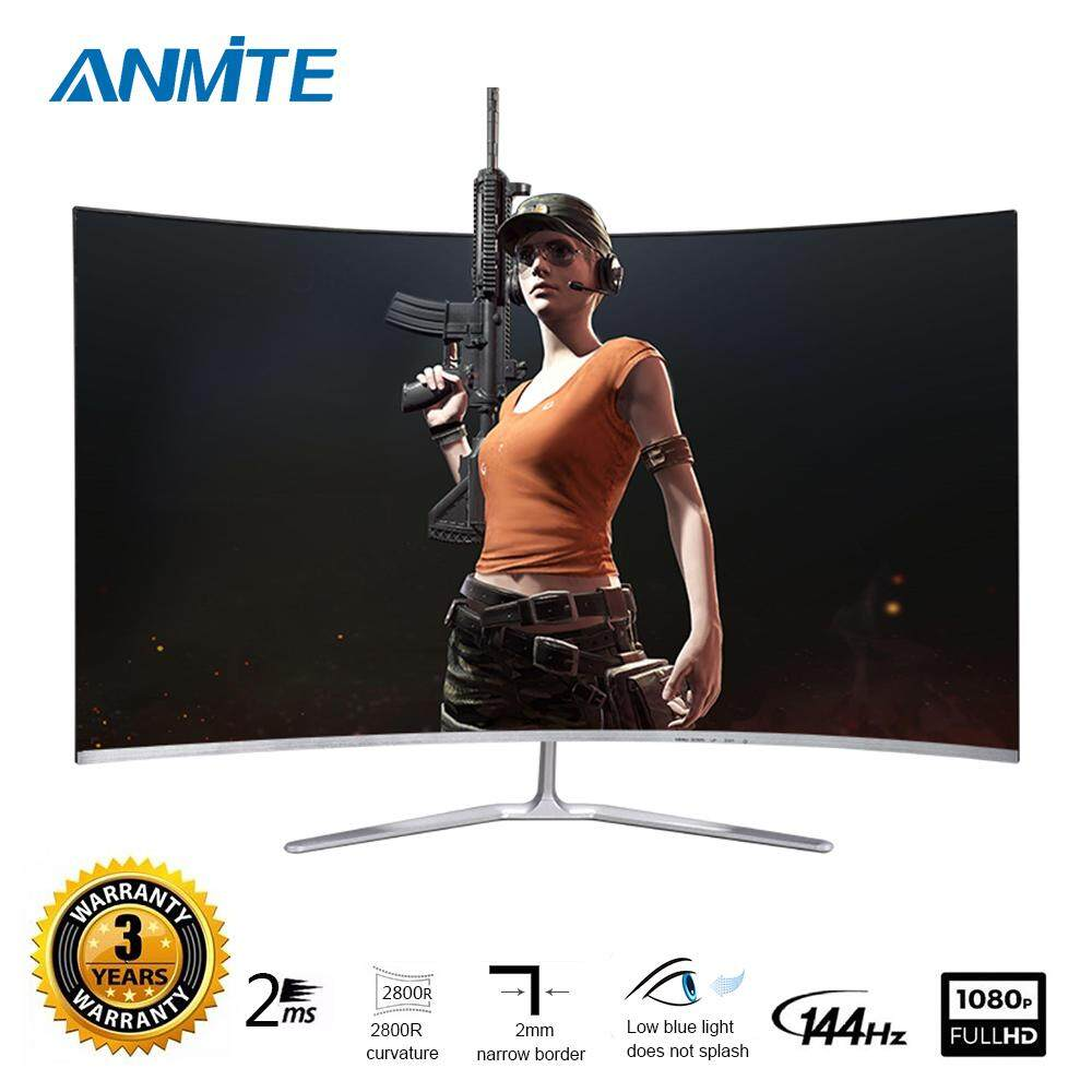 Anmite  32 144hz HDR Curved FHD [1920 x 1080] Gaming Monitor PC HDMI Led Display Malaysia