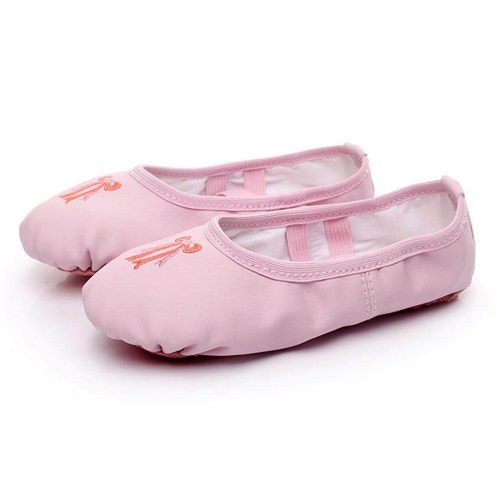 Pu Non-Slip Soft Cat Claw Children Dance Practice Yoga Ballet Shoes By Jiada Shop.