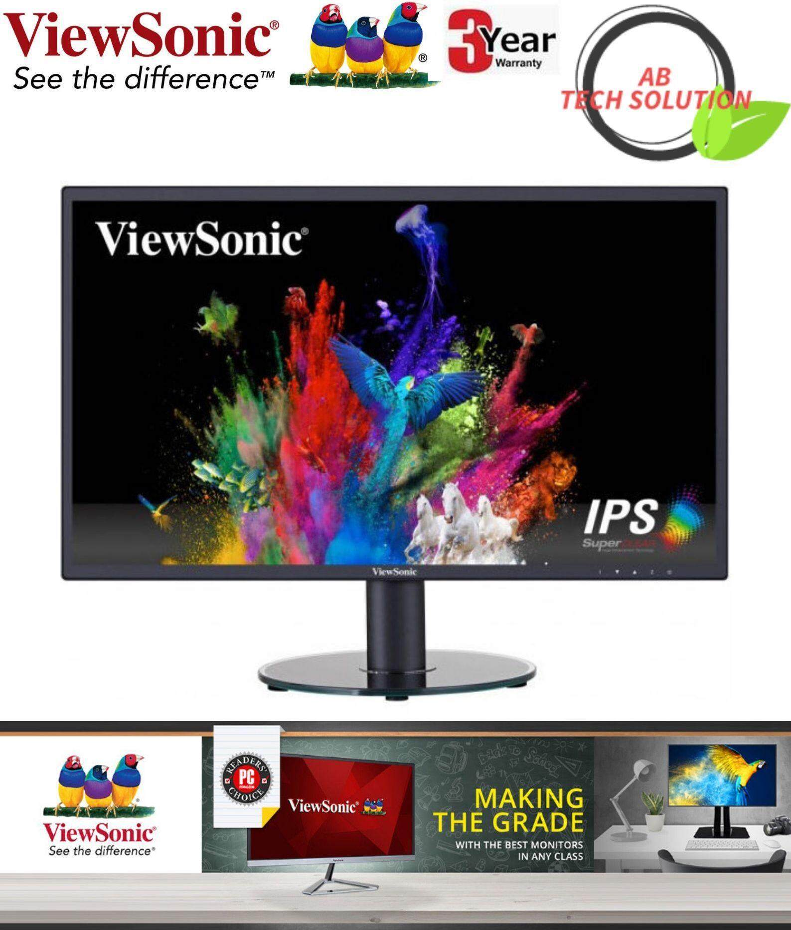 VIEWSONIC VA2419-SH VA2419 24 FULL HD SuperClear® IPS Home and Office MONITOR Malaysia