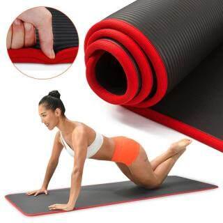 Thảm Yoga 10Mm Thảm Gối Chống Trượt NRB Siêu Dày 1830 610Mm Cho Nam Giới Phụ Nữ Miếng Đệm Tập Thể Dục Thể Hình Không Vị Pilates Yoga Mat thumbnail