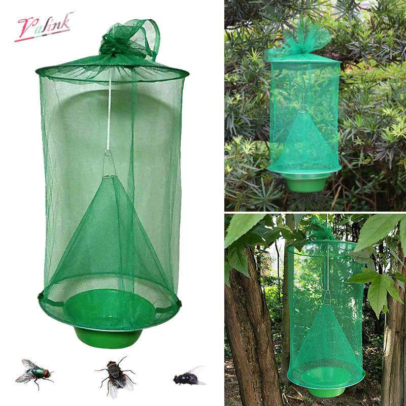 Valink Flycatcher Top Catcher Non Toxic Folding Ranch Fly Trap Non Toxic Hanging Catcher Cage Traps