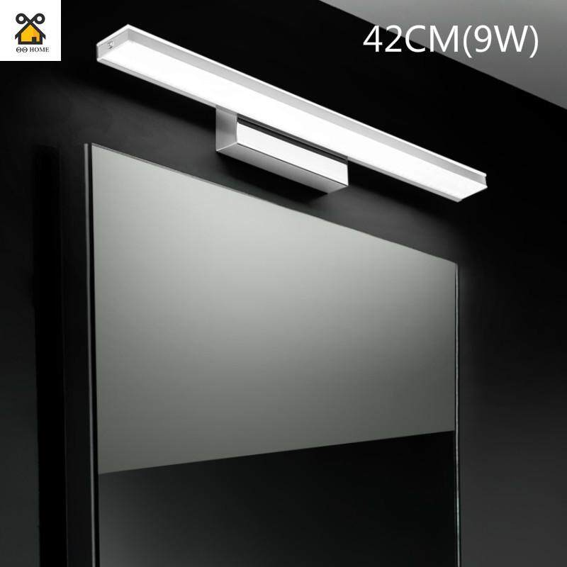 Simple Modern Led Mirror Headlight Dressing Table Bathroom Bathroom Mirror Wall Lamp European Mirror Cabinet Light