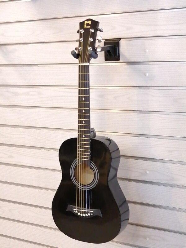 Original Beginner Acoustic Guitar 34 Inch Gitar Akusti Folk Guitar Color Black Guitar Malaysia
