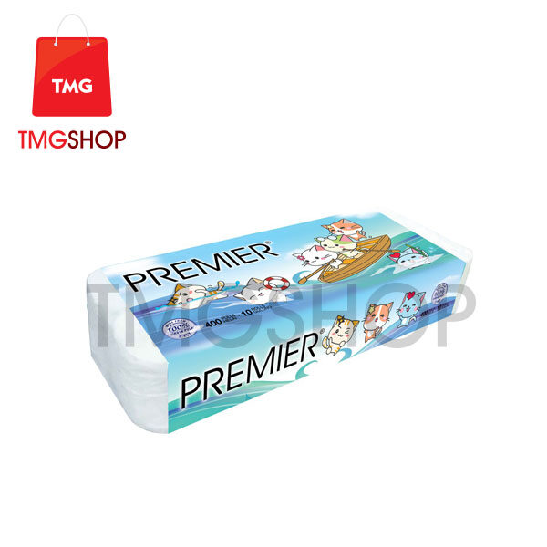 Premier Kitty Garden Tissue Rolls 10 Rolls x 6