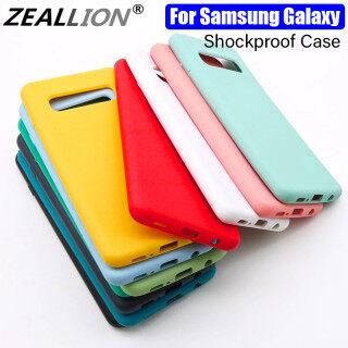 Zeallion Cho [Samsung Galaxy S10 5G S10 S10e S10 Cộng Với] Cao Su Silicone Lỏng Ốp Lưng TPU Mềm Bìa Bé-Da Siêu Mỏng Vỏ Bảo Vệ Chống Sốc Vỏ Điện Thoại thumbnail