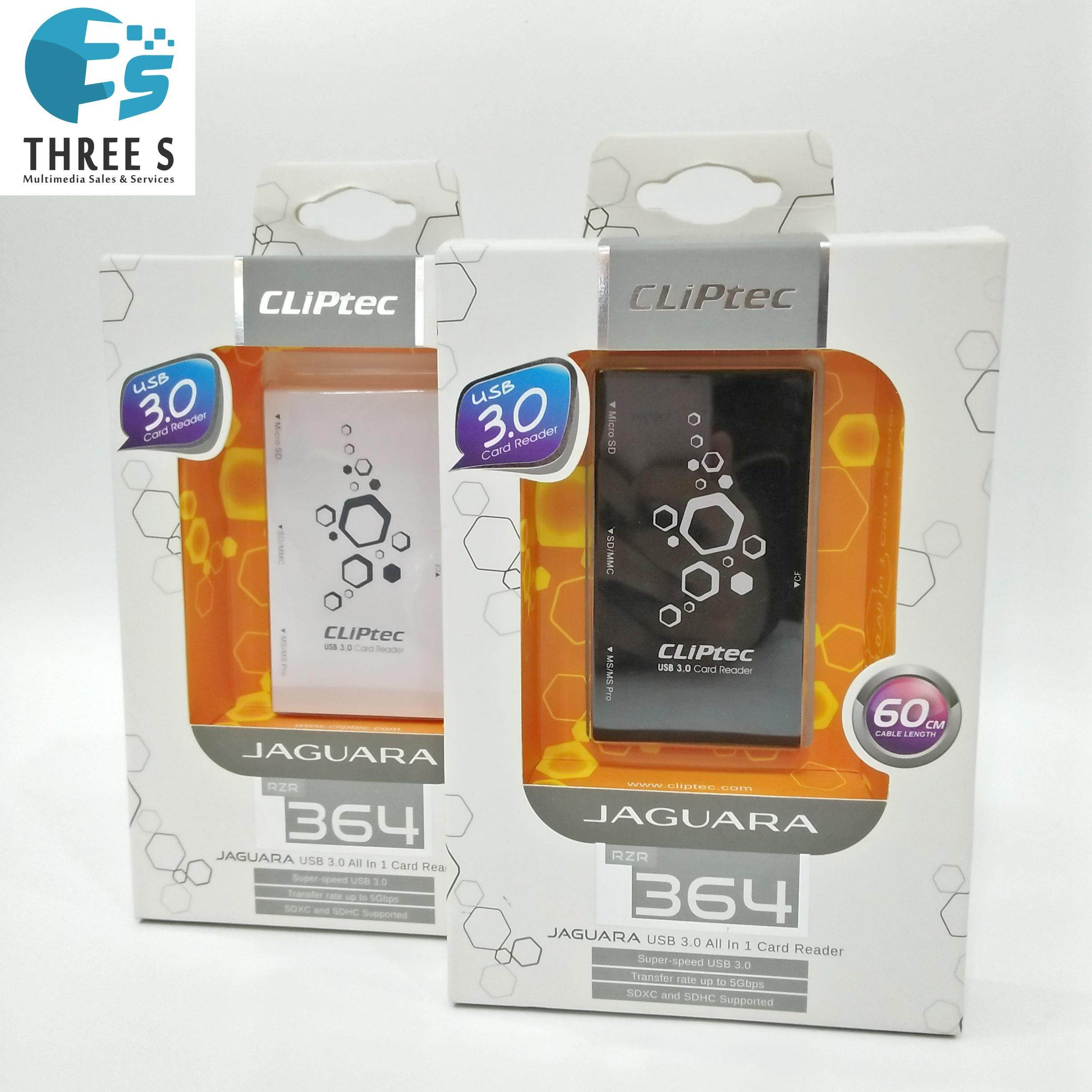 CLIPTEC CARD READER ALL IN 1-READY STOCK-
